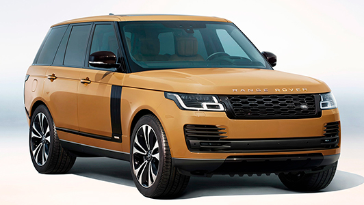 Range Rover Fifty Bahama Gold