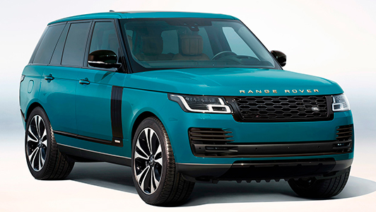 Range Rover Fifty Tuscan Blue